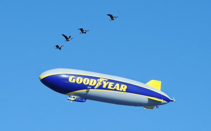 Flying a Blimp Is Way Trickier