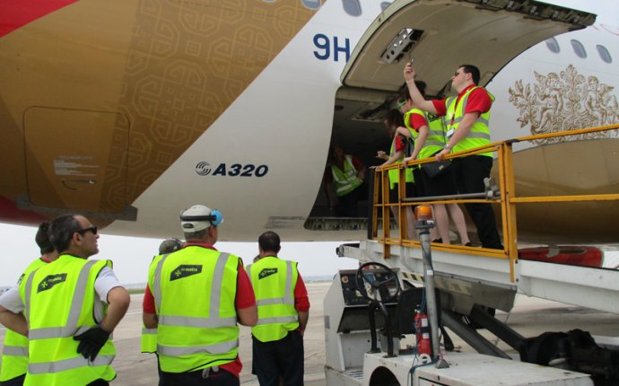 Air Malta Visit - Gallery