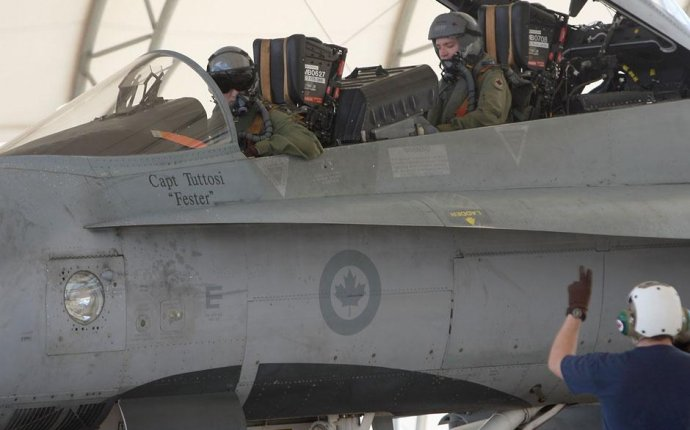 How to become a Canadian fighter pilot?