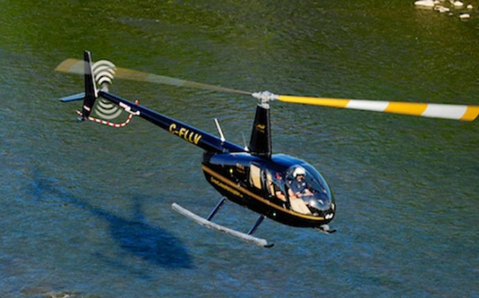 Helicopter pilot training Canada