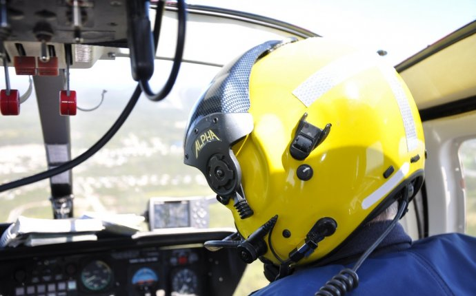 Coast Guard helicopter pilot training